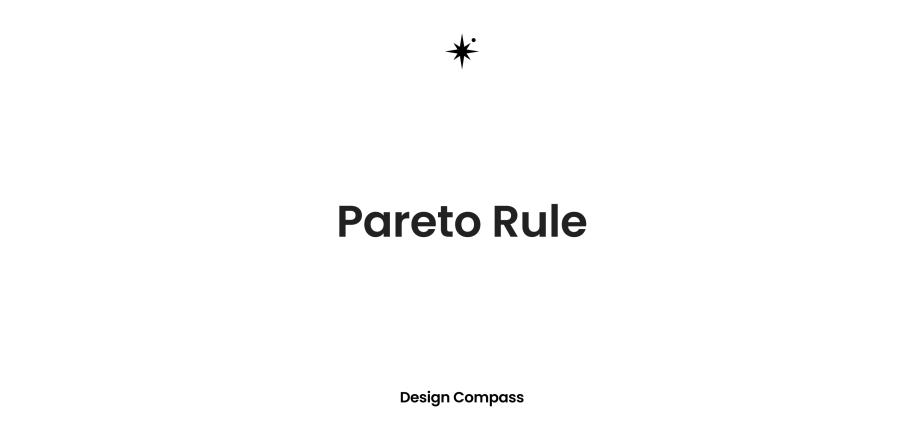 파레토 법칙